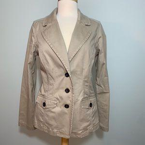 Tan blazer jacket